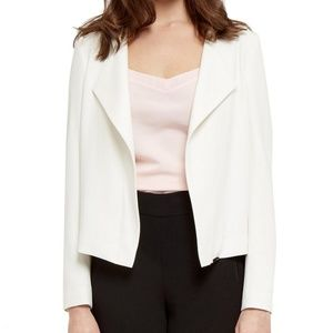 Ted Baker Formie Waterfall Front Cream Jacket